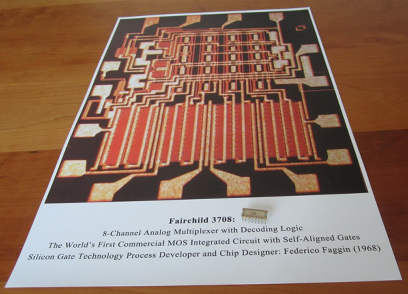 Image of the Fairchild 3708 Poster